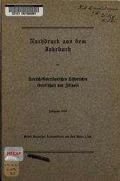 Briefe deutscher Auswanderer aus dem Jahre 1709
