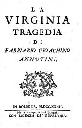 La Virginia tragedia di Farnabio Gioachino Annutini