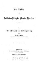 Geschichte der Kaiserin K  nigin Maria Theresia PDF