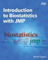 Introduction to Biostatistics with JMP PDF
