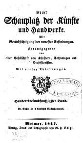Das deutsche Bäckerhandwerk im Jahre 1847 ...: Nebst einer ausführlichen Beschreibung der neuesten und bewährtesten Backöfen und genauer Angabe erprobter, nicht allgemein bekannter hefenrecepte. Für Bäcker von Profession, wie auch für Solche, die ihr Brod selbst zu bakken pflegen