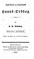 Deutsch d  nisches und d  nisch deutsches hand w  rterbuch  th  D  nisch deutsch PDF