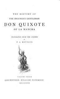 The History of the Ingenious Gentleman Don Quixote of la Mancha Book