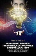 OUR SECRET POWERS PDF