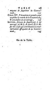 La Cacomonade: ouvrage postume