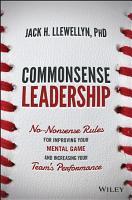 Commonsense Leadership PDF