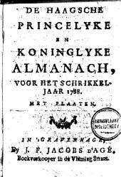 De Haagsche, princelyke en koninglyke almanach, voor het jaar MDCCXCI.