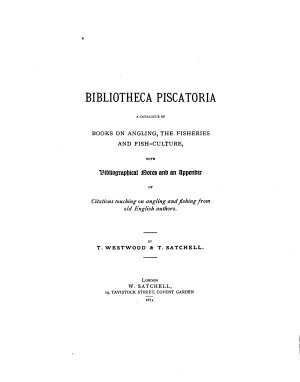 Bibliotheca Piscatoria PDF