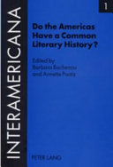 Download Do the Americas Have a Common Literary History  Book