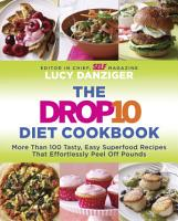 The Drop 10 Diet Cookbook PDF