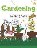 Gardening Coloring Book PDF