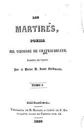 Los mártires, poema: puesto en verso