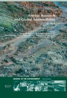 Arsenic Research and Global Sustainability PDF