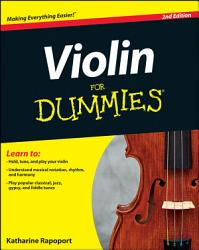 Violin For Dummies  2nd Edition PDF