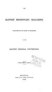 The Baptist Missionary Magazine: Volume 25