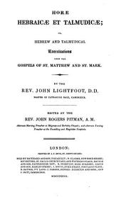 The whole works of ... John Lightfoot, ed. by J.R. Pitman