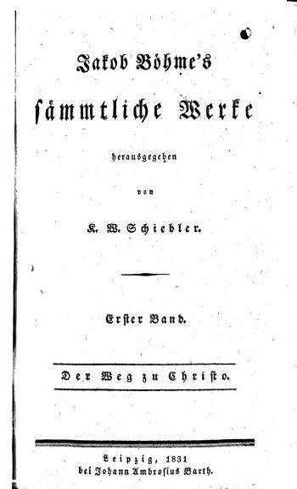 Jakob B  hme s s  mmtliche Werke PDF