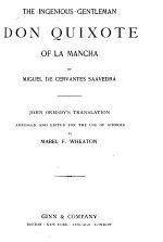 The Ingenious Gentleman, Don Quixote of La Mancha