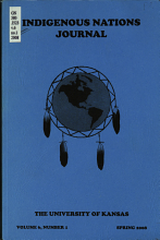 Indigenous Nations Journal PDF