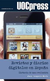 Revistas y diarios digitales en España: Historia de una evolución