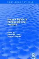 Revival  Human Rights in Philosophy and Practice  2001  PDF