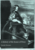 A History of the House of Percy