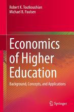 Economics of Higher Education PDF