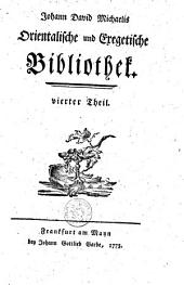 Orientalische und exegetische Bibliothek: Volumes 4-6