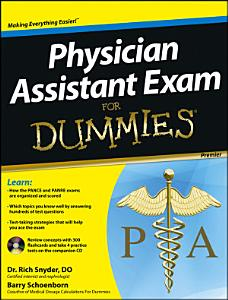 Physician Assistant Exam For Dummies Book