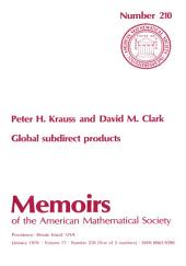 Global Subdirect Products: Issue 210