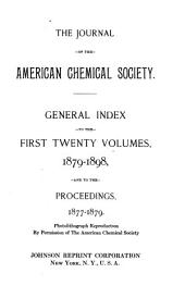Journal of the American Chemical Society: Volumes 1-20