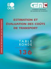 Tables Rondes CEMT Estimation et évaluation des coûts de transport