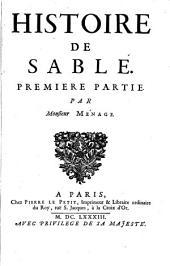 Histoire De Sable: Partie1