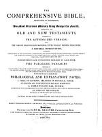 The Comprehensive Bible  Etc   Edited by William Greenfield   PDF
