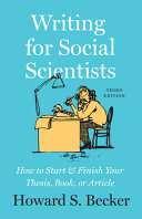Writing for Social Scientists  Third Edition PDF