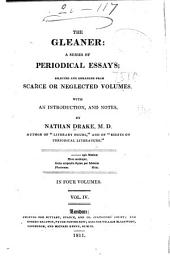 The Gleaner: A Series of Periodical Essays