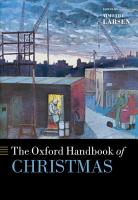 The Oxford Handbook of Christmas PDF
