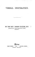 Verbal Inspiration PDF