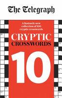The Telegraph Cryptic Crosswords 10