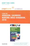 Saunders Nursing Drug Handbook 2016 Pageburst E book on Vitalsource Retail Access Card PDF