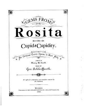Gems from Rosita  Or  Cupid and Cupidity PDF