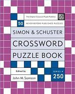 Simon and Schuster Crossword Puzzle Book