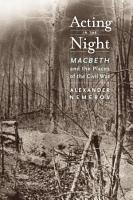 Acting in the Night PDF