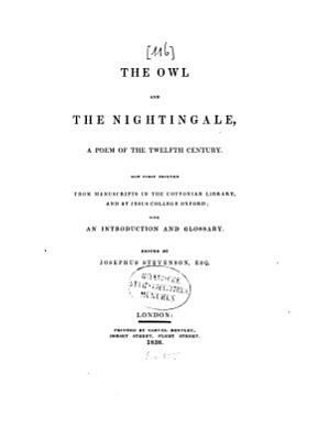 The Owl and the Nightingale PDF