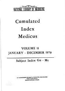 Cumulated Index Medicus