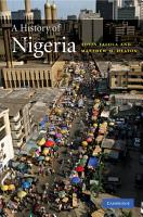 A History of Nigeria PDF
