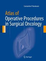 Atlas of Operative Procedures in Surgical Oncology PDF