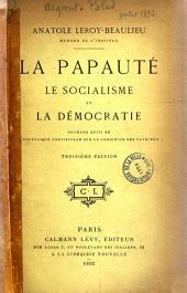 La papauté, le socialisme et la démocratie