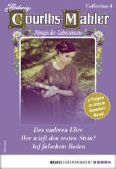 Hedwig Courths-Mahler Collection 4 - Sammelband: 3 Liebesromane in einem Sammelband
