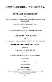 Encyclopædia americana: Volume 5